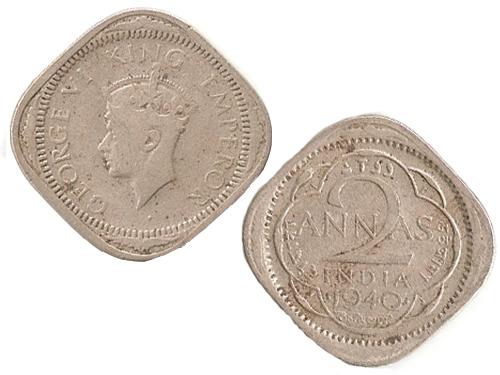 George VI King Emperor 1940 2Annas
