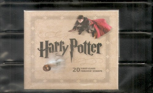 Harry Potter Stamp Booklet