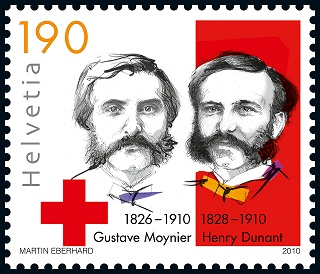 100th Anniversary of Death of Henry Dunant and Gustave Moynier