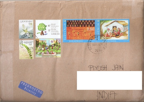 Slovenia India Joint Issue
