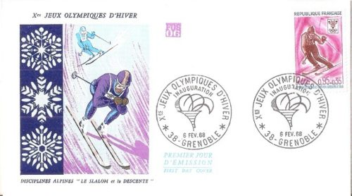 1968 Winter Olympic Games - Grenoble, France