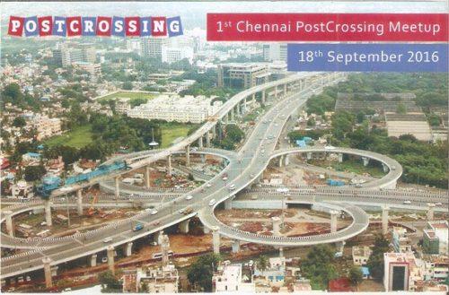 1st Chennai Postcrossing Meetup
