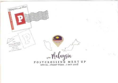 Postcrossing Meetup Card