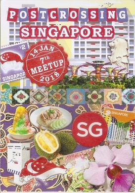 Singapore Postcrossing Meetup Card