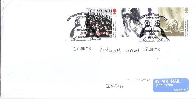 Baltasound Post Office