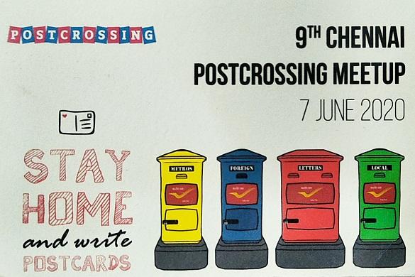 chennai postcrossing meetup