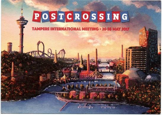 Postcrossing Meetup Tampere International